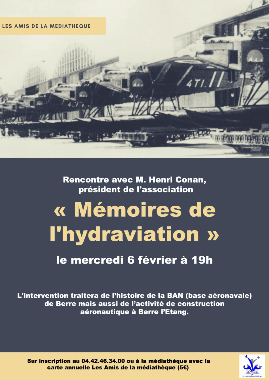 [ Aéronavale divers ] Exposition conférence sur la BAN de Berre Affich14