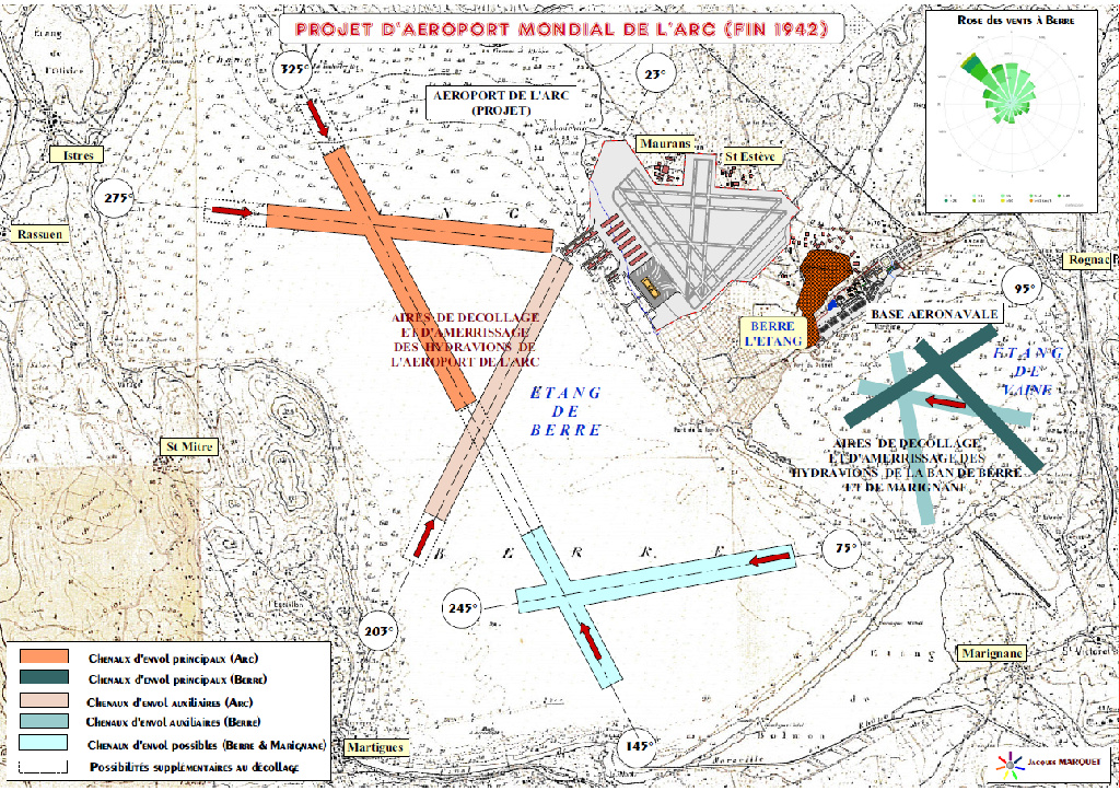 [ Histoire et histoires ] Projet d'aéroport international de l'Arc Azorop13