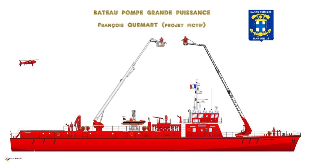 Navires des Marins Pompiers Bateau14