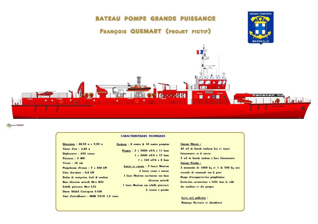 Navires des Marins Pompiers Bateau15