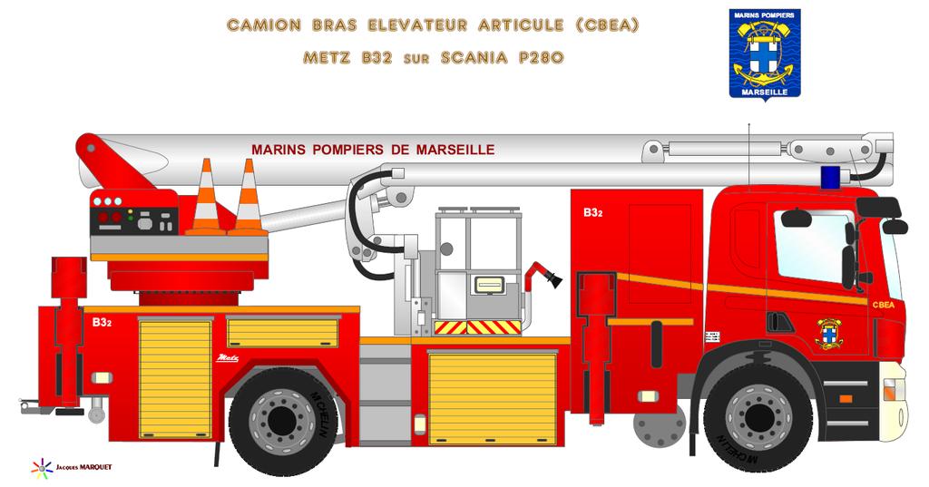 Véhicules des Marins Pompiers Cbea_b12