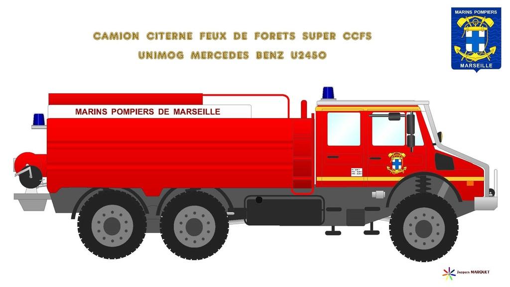Véhicules des Marins Pompiers Ccfs_u12