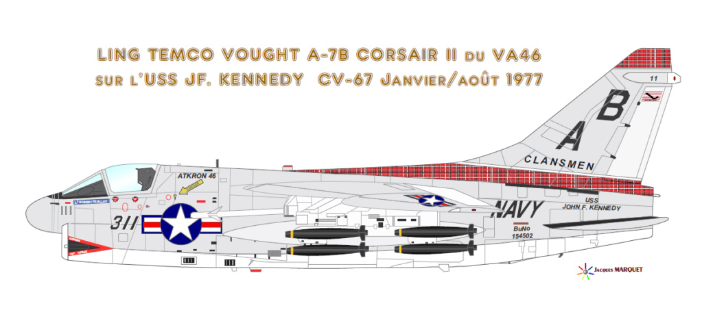 PORTE-AVIONS USS ENTERPRISE (CVN-65) Corsai11