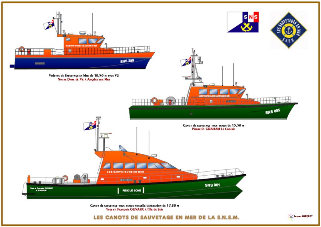 Un bateau de la SNSM chavire Diapos85