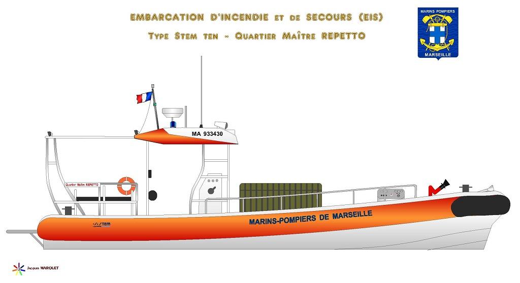 Navires des Marins Pompiers Eis_bm13