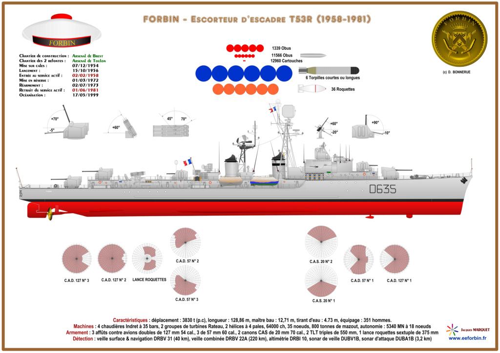 Mes dessins des navires francais - Page 6 Forbin17