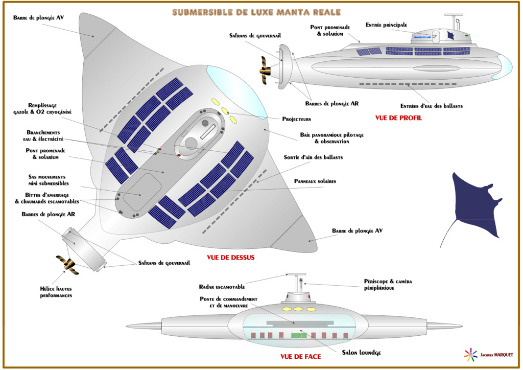 Projet de submersible de croisière de luxe Manta_11