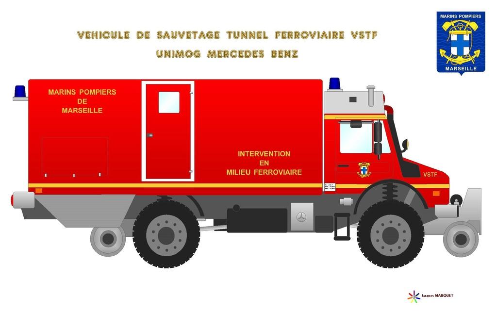 Véhicules des Marins Pompiers Vstf_u12