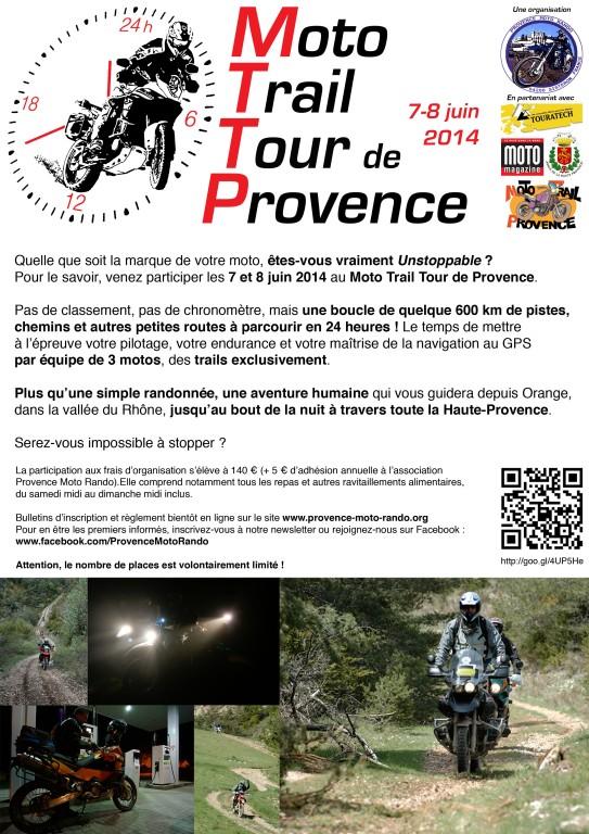 Moto Trail Tour de Provence, une HAT à la française les 7-8 juin 2014 !  Mttp10