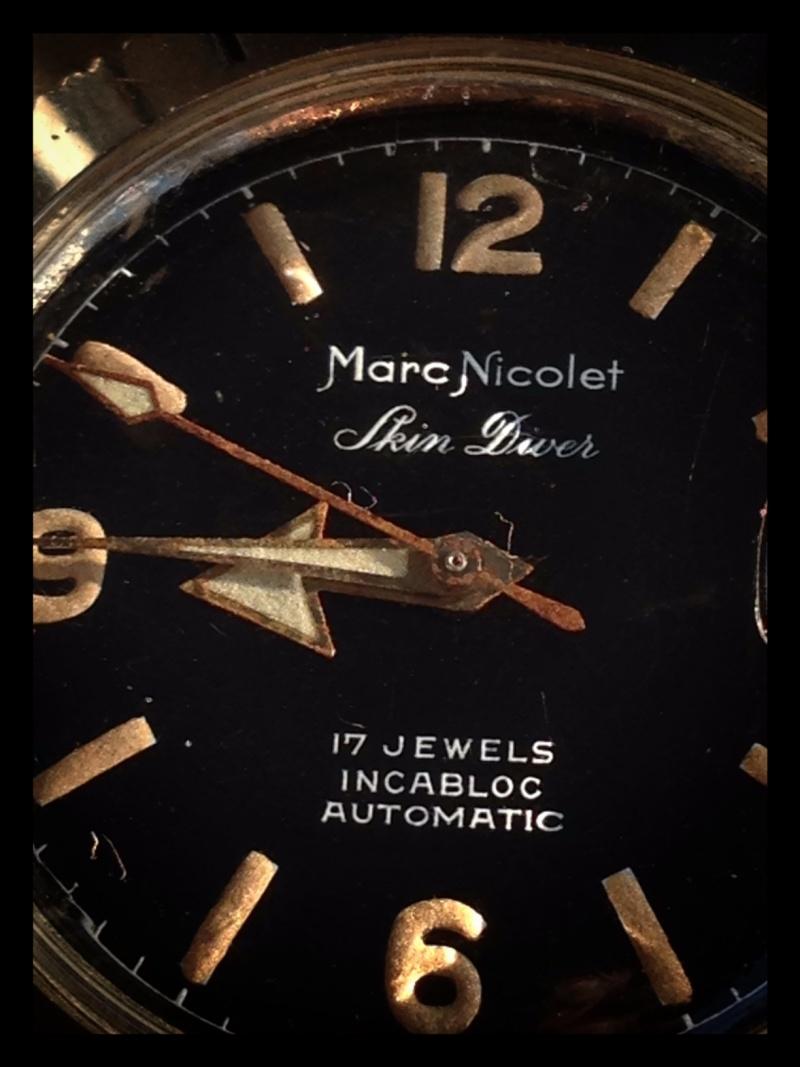 DIVER - Dans la famille Nicolet, je voudrais Marc - revue d'une Skin Diver Cadran19