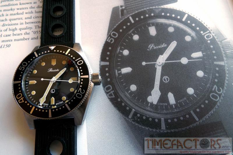 DIVER - Precista Royal Navy Diver - PRS82 Prs-8212