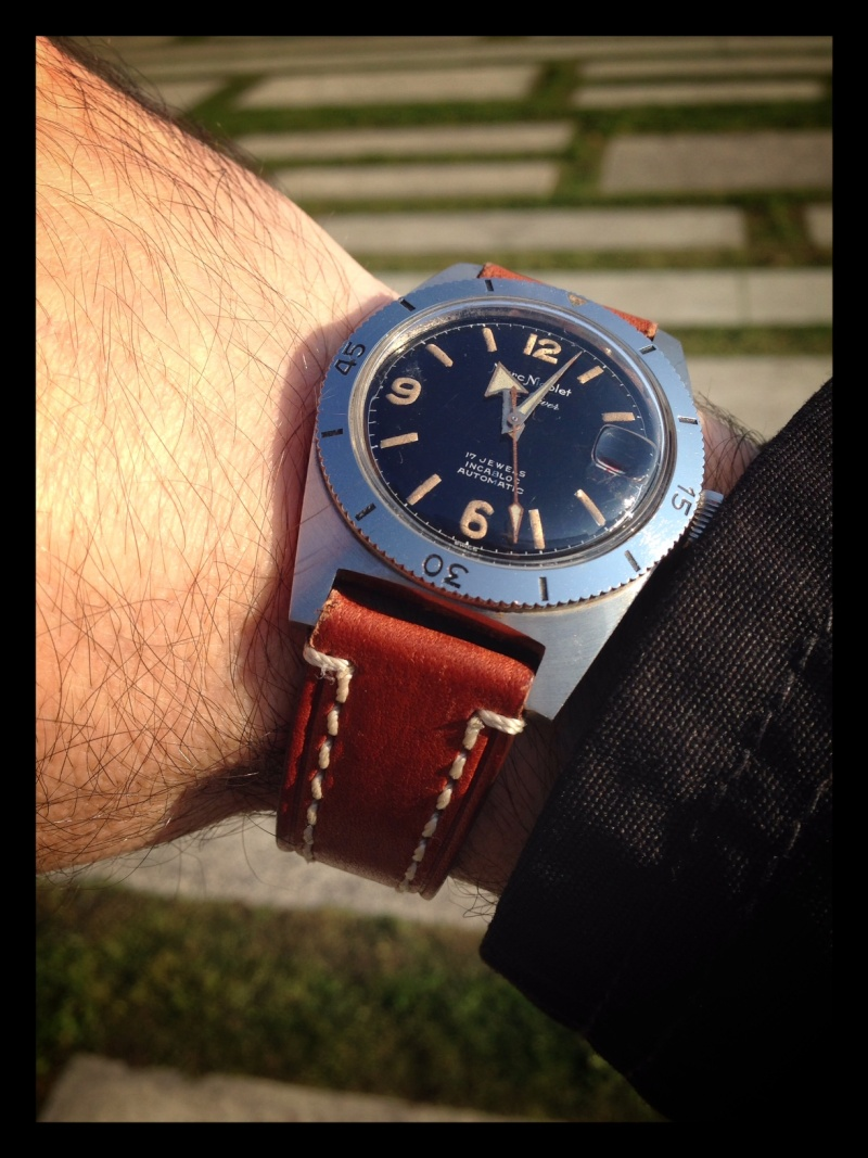 [Vendue] Marc Nicolet Skin Diver - 250€ Wrists18