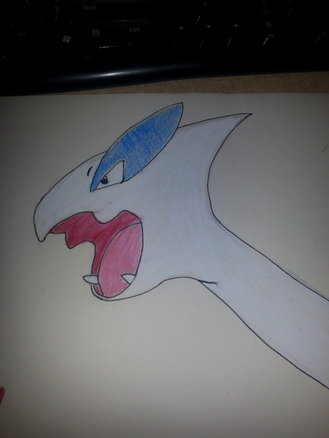 SXR's drawing topic - Page 2 Lugia10