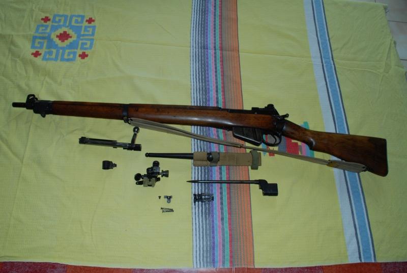 Fusil Anglais Lee-Enfield MKI de 1944  Lee_en10