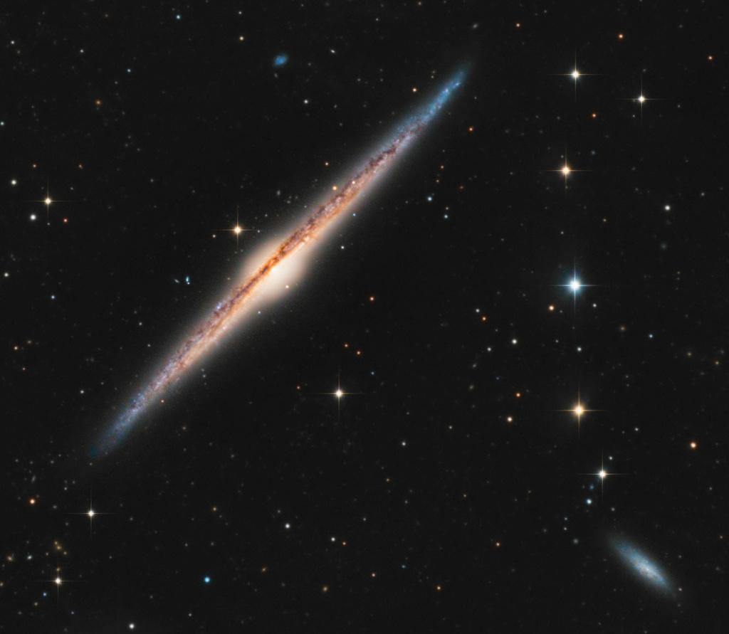 NGC4565 au RC360 en Isère Ngc45610