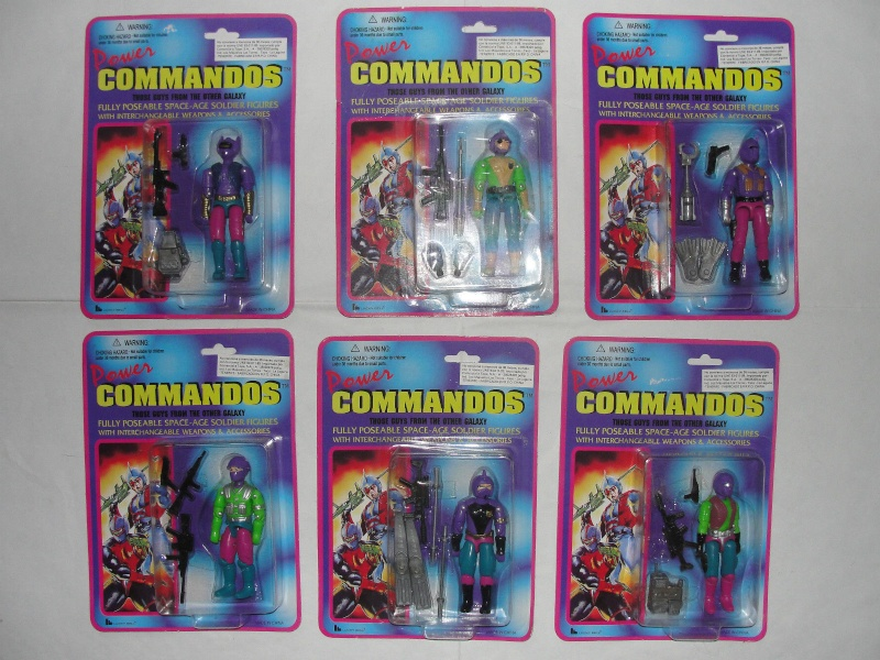 FT - Gi JOE KNOCK OFFS POWER COMMANDOS FIGS _5711