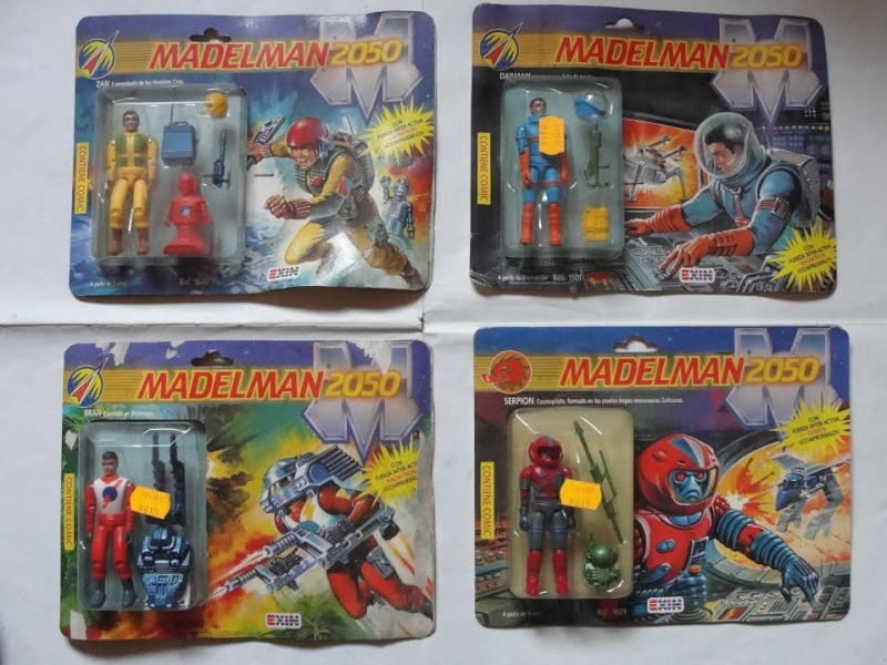 MADELMAN 2050 & SPACE WARRIOR MOTU HE-MAN KNOCK OFFS Madelm10