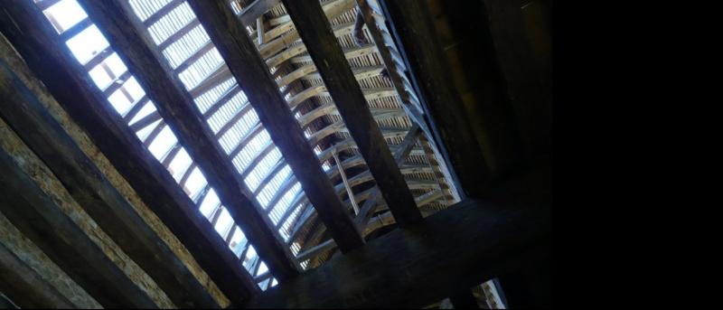 Voici quelques photos perso du chateau de geudelon  Chron294