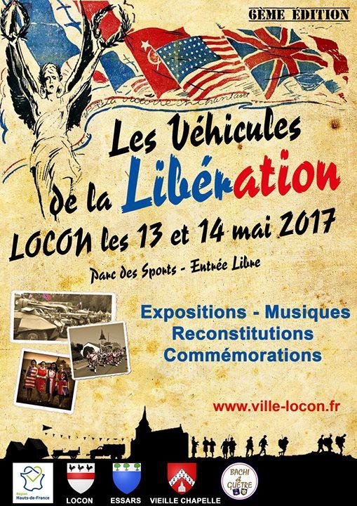 Les véhicules de la libération - Locon Affich10