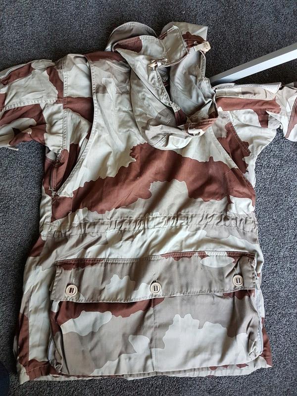 Current desert pattern garment 20170520