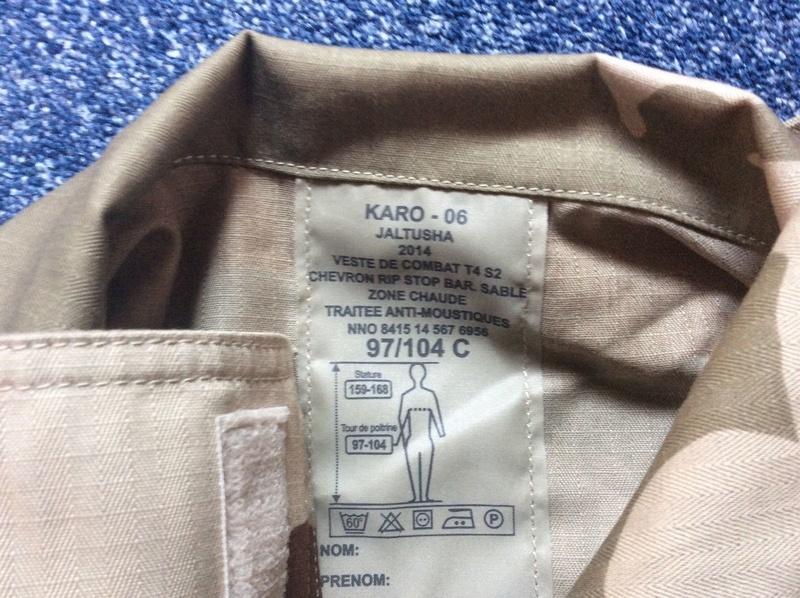 Current desert pattern garment Felin310
