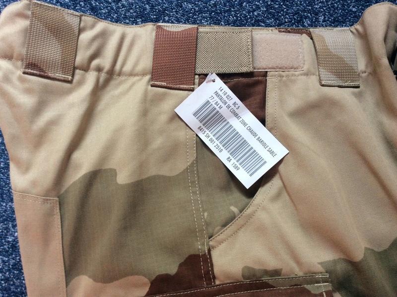 Current desert pattern garment Felin510