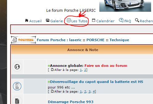 Les tutos du forum LASERIC Captur42