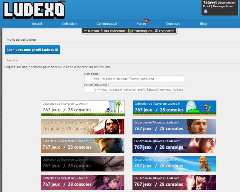 Ludexo.fr / Gérer votre collection de jeux vidéo - Page 6 Partag10