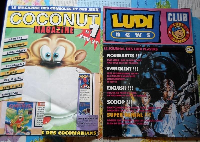 Quel a été votre première console ou ordi rétro et vos 1er jeux ? - Page 2 Sam_0545