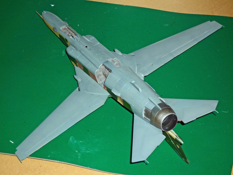 """MiG-27 """"Flogger-D""""; Trumpeter 1/48 - Page 3 P1100221"""