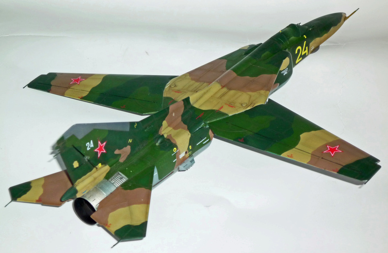 "MiG-27 ""Flogger-D""; Trumpeter 1/48 - Page 4 P1100240"