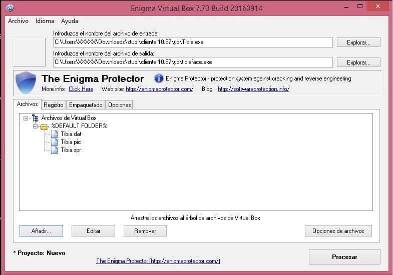 [Utilidad] Encriptar Cliente Tibia y Otclient (Guia) Como_s11