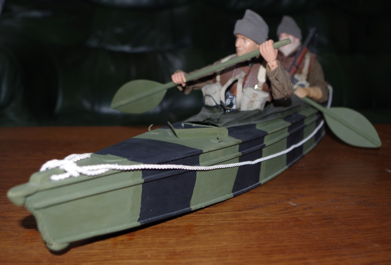 Kayak Mak II ( opération frankton) Canoe210