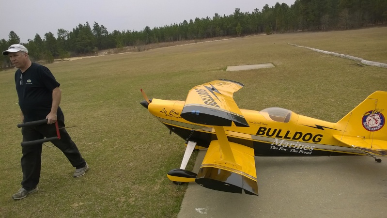 An interesting day at the field, starring a Giant Pitts Bipe Wp_20170
