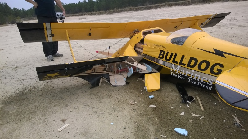An interesting day at the field, starring a Giant Pitts Bipe Wp_20173