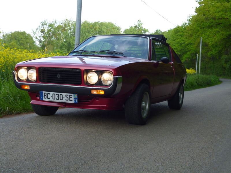 ma renault 17 ts decouvrable P1010526
