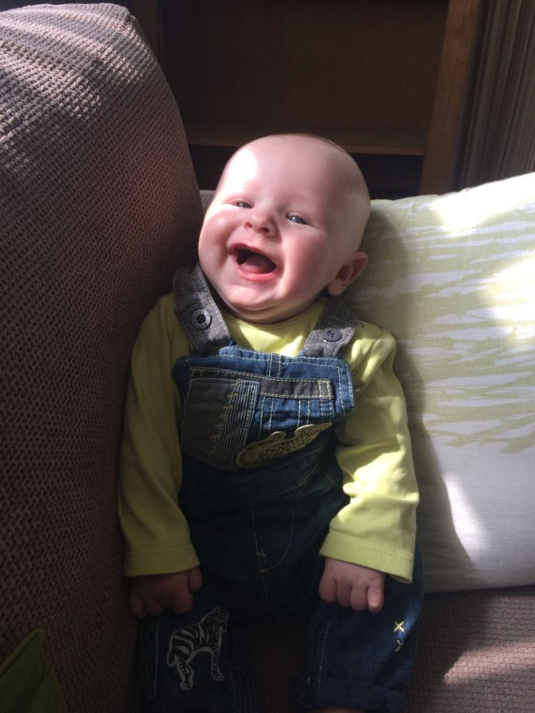 McQueen's grandson laughing at him in his weedkiller outfit... Img-2011