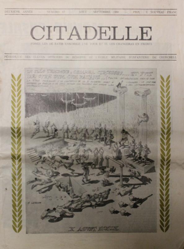 """Un petit clin d'oeil à la revue """"Citadelle"""" des anciens de Cherchell publiée de nos jours...! Img_9411"""