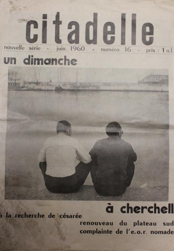 """Un petit clin d'oeil à la revue """"Citadelle"""" des anciens de Cherchell publiée de nos jours...! Img_9511"""