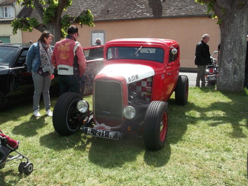 2ème Rassemblement American Legend , voitures et motos anciennes à LORMAYE 28.  Dscf6418