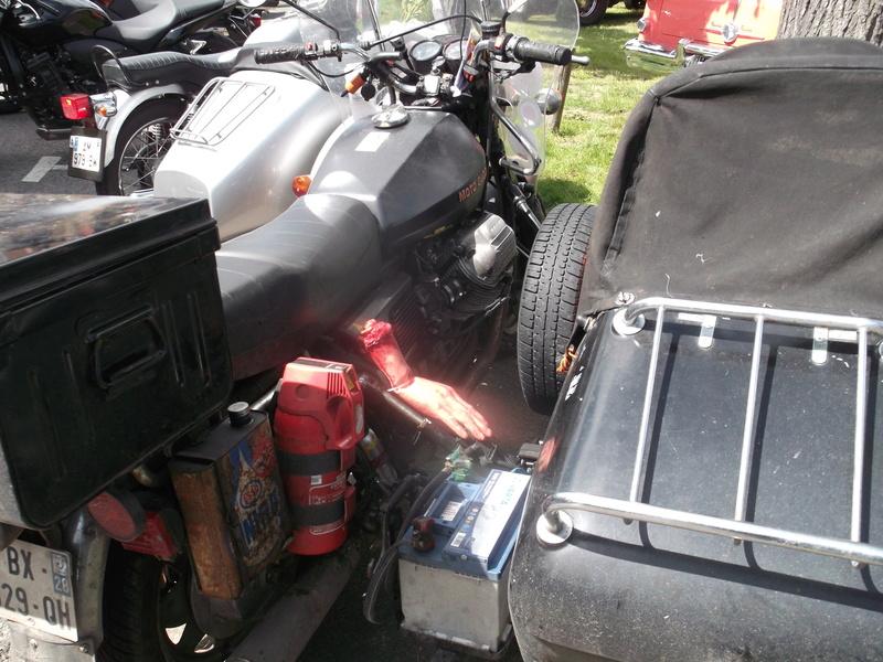 2ème Rassemblement American Legend , voitures et motos anciennes à LORMAYE 28.  Dscf6423