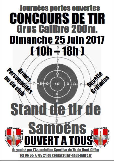 Concours a 200 m Du Tir du Haut Giffre (haute Savoie) Concou10