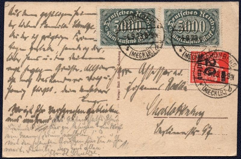 Mecklenburg und Pommern auf Ansichtskarten 1923-011