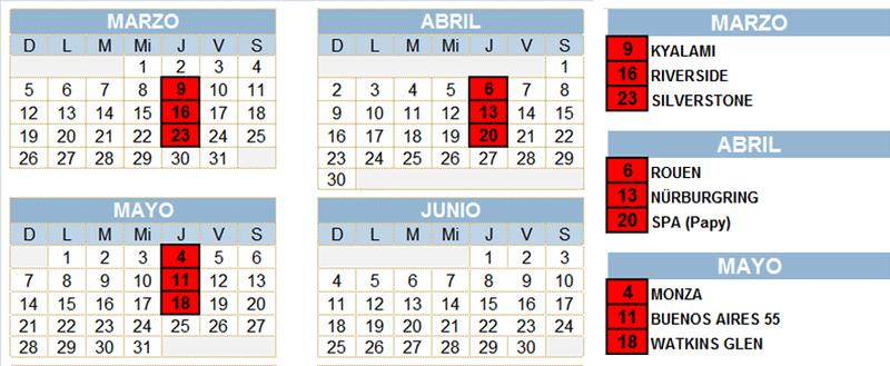Torneo Edicion XXIX Calend10