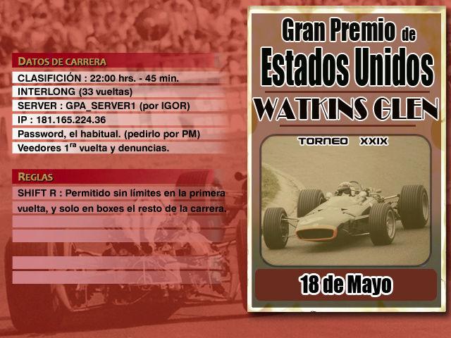 Torneo Edicion XXIX - Watkins Glen Watkin10