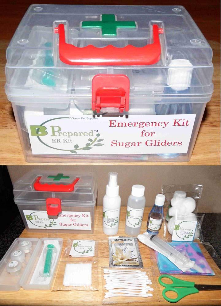 Emergency Kit for Sugar Gliders Ekit_f10