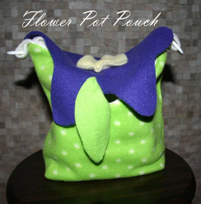 Flower Pot pouches in stock NOW Green_10