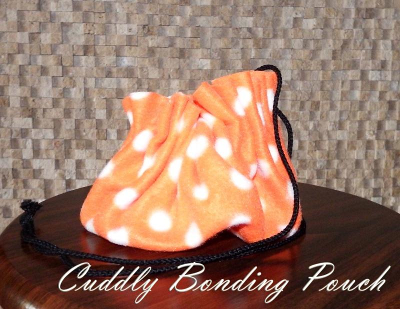 Cuddly Bonding Pouches in stock NOW Orange17