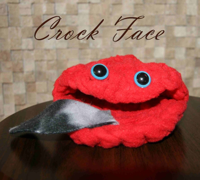Crock Faces in stock NOW Redcro10