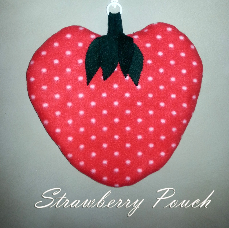 Special offer Strawberry Pouches Strawb12
